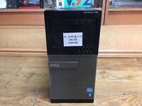 Dell Optiplex 790 MT Core i3-2100 3.1GHz 4GB RAM 250GB HDD Win 7 PC