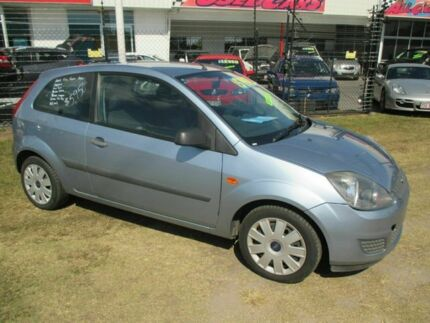 2006 Ford Fiesta WQ Zetec Blue 5 Speed Manual Hatchback Kippa-ring Redcliffe Area Preview