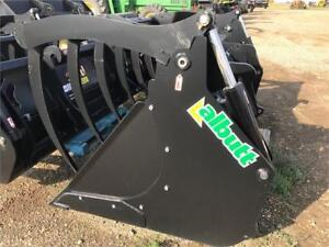 Albutt Bucket and Grapple for JCB