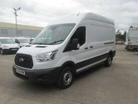 Ford Transit T350 2.2 Tdci 125Ps L3 H3 Van DIESEL MANUAL WHITE (2015)