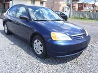 ***2003 Honda Civic Excellente condition 999$***