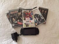 Sony PSP Handheld + Games (£70)