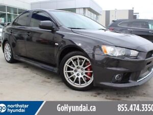 2014 Mitsubishi Lancer Evolution MR Sunroof 291HP awd