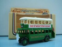 Lledo Promo LP15 D/D AEC Regent Bus Southern Vectis Isle of Wight Steam Railway Havenstreet