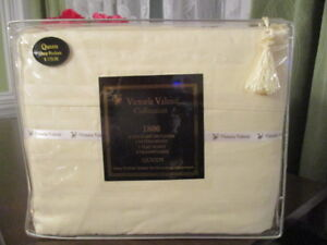 New Victoria Valenti Queen Size Sheets Still in Package