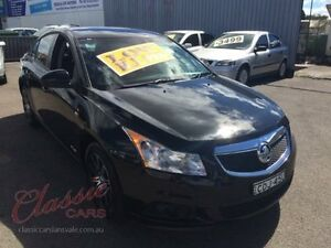 2011 Holden Cruze JH CD Black 6 Speed Automatic Sedan Lansvale Liverpool Area Preview