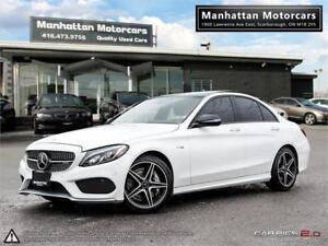 2017 MERCEDES BENZ C43 AMG 4MATIC |NAV|PANO|CAMERA|WARRANTY