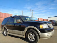 2005 Ford Expedition EDDIE BAUER-LEATHER-SUNROOF--8 PASSENGER