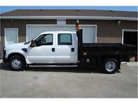 2008 FORD F-350 XLT SUPERDUTY 2WD 9 FT DECK 57K ONLY $17,850.