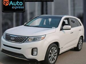 2014 Kia Sorento SX, 3.3L V6 Turbo, Leather, Sunroof, Navigation