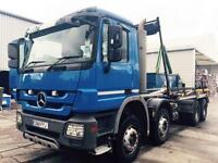 2011 Mercedes-Benz Actros 3236K Diesel blue Manual