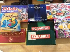 Selection of classic board games - mostly excellent condition