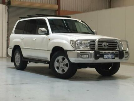 2005 Toyota Landcruiser UZJ100R Sahara White 5 Speed Automatic Wagon Bibra Lake Cockburn Area Preview