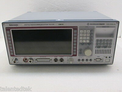 Rohde Schwarz Cmd 80 Digital Radio Comm Tester - Loaded With Options