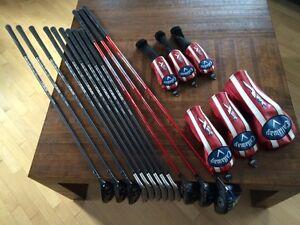 Callaway 12 piece Graphite Golf Set, Senior Shafts