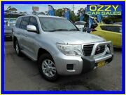 2012 Toyota Landcruiser VDJ200R MY12 GXL (4x4) Silver 6 Speed Automatic Wagon Penrith Penrith Area Preview