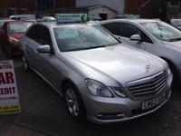 MERCEDES-BENZ E CLASS E220 CDI BlueEFFICIENCY SE 4dr Tip Auto [7] (silver) 2012