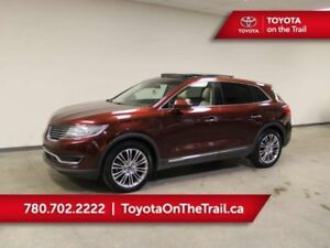 2016 Lincoln MKX PANORAMIC SUNROOF, LEATHER, NAV, HEATED/COOLED