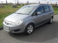 Vauxhall/Opel Zafira 1.6 16v ( 105ps ) 2008MY Exclusiv MOT 4/4/18 72025 Mls 2key