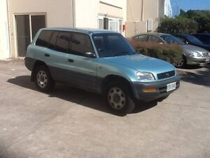 1995 Toyota RAV4 (4x4) Green Over Silver 4 Speed Automatic 4x4 Wagon Maroochydore Maroochydore Area Preview