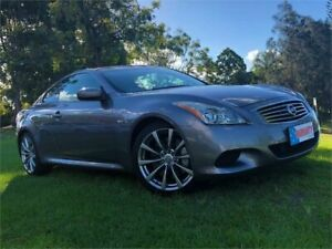 2008 Nissan Skyline CKV36 370GT Type S Grey 5 Speed Sports Automatic Coupe Burleigh Heads Gold Coast South Preview