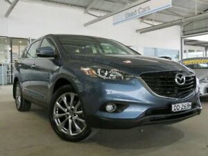 2014 Mazda CX-9 TB10A5 Luxury Activematic Blue 6 Speed Sports Automatic Wagon Edwardstown Marion Area Preview