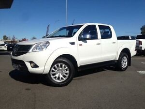 2016 Foton Tunland P201 MY14 TL (4x4) White 5 Speed Manual Dual Cab Utility Beckenham Gosnells Area Preview