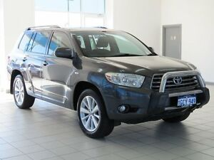 2010 Toyota Kluger GSU40R KX-S (FWD) Grey 5 Speed Automatic Wagon Morley Bayswater Area Preview