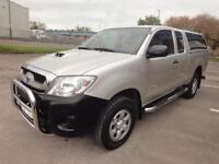 LHD 2009 Toyota Hilux King Cab 2.4 D4D Pick Up Manual SOLD/UNDER OFFER
