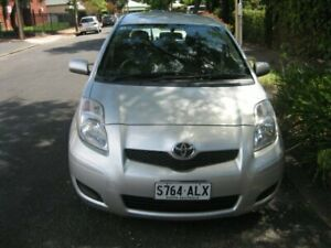 2011 Toyota Yaris NCP130R YR Silver Lining 4 Speed Automatic Hatchback Prospect Prospect Area Preview