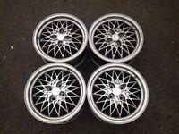 "Exip 15"" 4x100 7j alloy wheels. Deep dish. not borbet bbs, ats, lenso, hartge, AEZ TM"