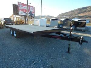 NEW 20' X 8.5' WIDE DECKOVER TRAILER 10,000LB GVW