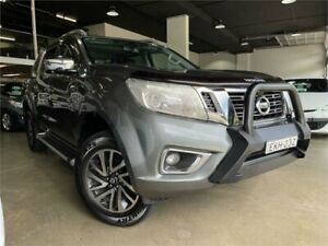 2018 Nissan Navara D23 S3 ST-X Metallic Grey 7 Speed Sports Automatic Utility Caringbah Sutherland Area Preview