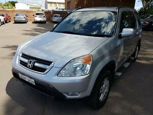 2004 Honda CR-V MY04 (4x4) Sport Silver 4 Speed Automatic Wagon Georgetown Newcastle Area Preview