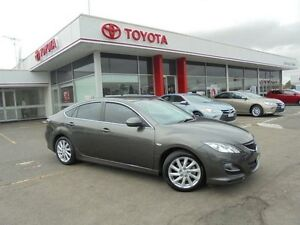 2011 Mazda 6 GH MY10 Classic Grey 5 Speed Auto Activematic Hatchback Belmore Canterbury Area Preview