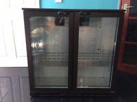 Lec BLH900BR Double Door Bottle Cooler Bar Fridge