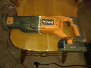 Scie alternative Ridgid Cordless Max select