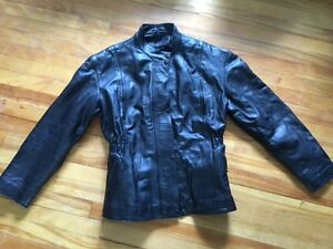 Leather Motorcycle Jacket 3XL Never Worn!