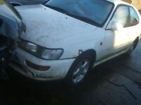 Toyota Corolla GXI 1.8 1994 rare car breaking for spare parts