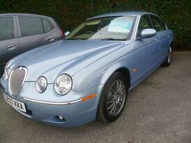 JAGUAR S-TYPE 2.7 XS D 4d 206 BHP automatic Immaculate car only (blue) 2007