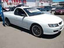 2006 Holden Commodore VZ White 6 Speed Manual Utility Kilkenny Charles Sturt Area Preview