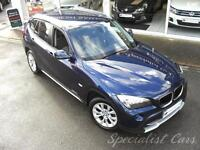 BMW X1 2.0 xDrive20d SE 5dr Lovely Example -4x4 (blue) 2009