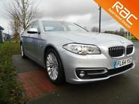 BMW 5 SERIES 520d Luxury 4dr (silver) 2014