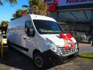 2017 Renault Master X62 Mid Roof LWB AMT White 6 Speed Sports Automatic Single Clutch Van Brookvale Manly Area Preview