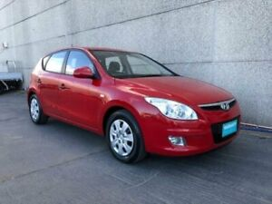 2011 Hyundai i30 FD MY12 SX Red 4 Speed Automatic Hatchback Revesby Bankstown Area Preview