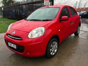 2012 Nissan Micra K13 ST 5 Speed Manual Hatchback Brooklyn Brimbank Area Preview