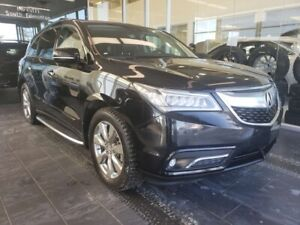 2016 Acura MDX ELITE PACKAGE, HEATED/COOLED SEATS, REAR DVD, NAV