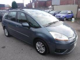 Citroen C4 Grand Picasso GRAND PICASSO 1.6 HDi 16v VTR+ EGS 5dr (grey) 2008