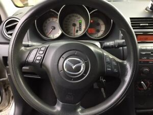 2007 MAZDA 3 SILVER GX TILT, POWER GROUP, ABS, 229,350KM
