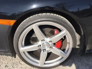 19x8.5 front and 19x11 rears Rims only